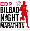 Logo EDP Bilbao Night Marathon
